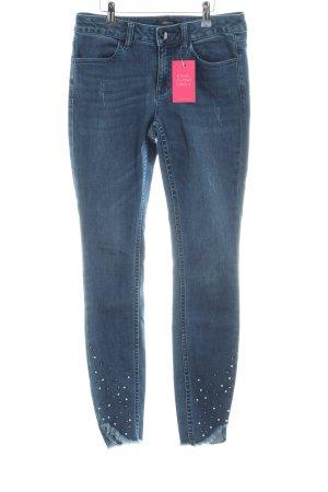 Comma Skinny Jeans blau Casual-Look