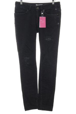 """Comma Skinny Jeans """"Sara"""" schwarz"""