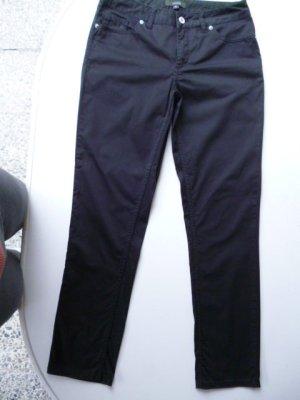 COMMA Slim Fit Stoffhose, Baumwolle, matt-glänzend, DE Gr. 36