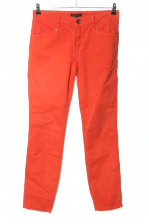 Comma Slim Jeans rot Casual-Look