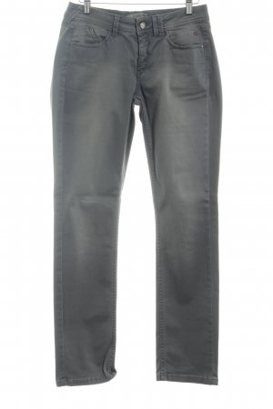 Comma Slim Jeans anthrazit Casual-Look