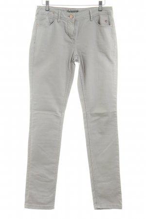 Comma Slim Jeans graubraun Casual-Look