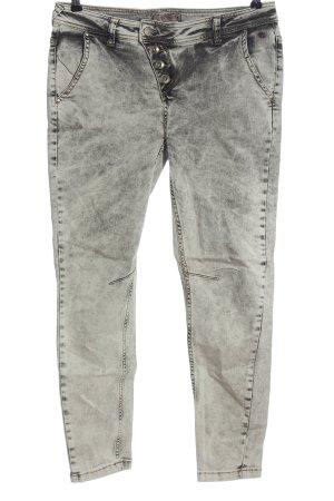 Comma Dopasowane jeansy jasnoszary W stylu casual