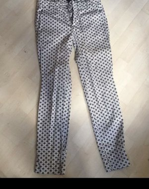 Comma 7/8 Length Trousers multicolored