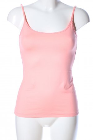 Comma Spaghettiträger Top pink Casual-Look