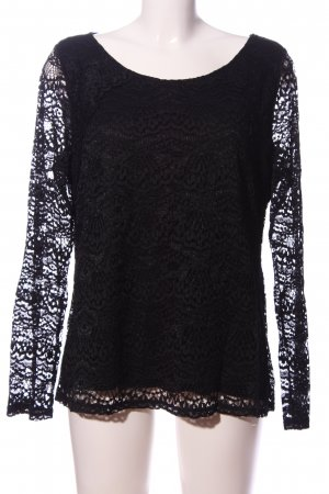 Comma Lace Blouse black casual look