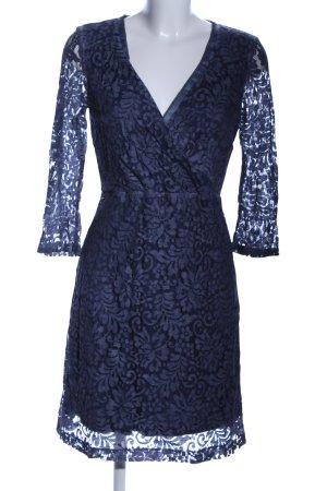 Comma Lace Dress blue elegant