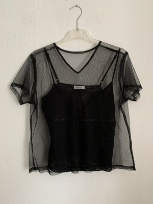 Comma Lace Top black