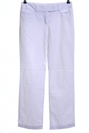 Comma Stoffhose weiß Casual-Look