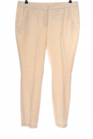Comma Stoffhose creme Business-Look