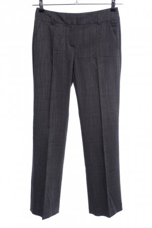 Comma Stoffhose hellgrau meliert Business-Look