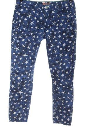 Comma Spodnie materiałowe Na całej powierzchni W stylu casual