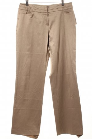 Comma Stoffhose beige Business-Look