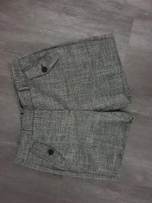 Comma Shorts black-silver-colored