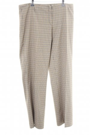 Comma Jersey Pants check pattern casual look