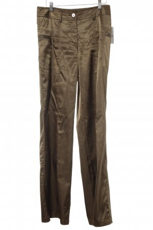 Comma Jersey Pants bronze-colored casual look