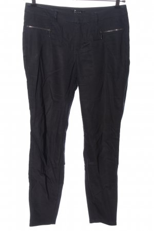 Comma Jersey Pants black flecked casual look