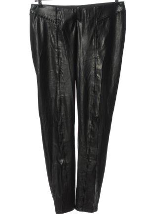 Comma Stoffhose schwarz Elegant