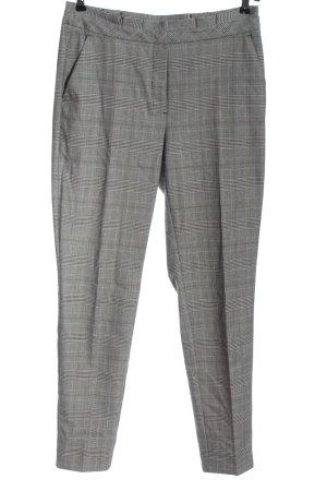 Comma Pantalon en jersey motif à carreaux style décontracté