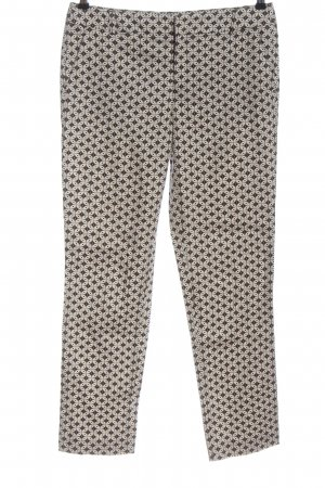 Comma Stoffhose Allover-Druck Casual-Look