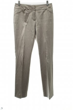 Comma Stoffhose goldfarben Business-Look