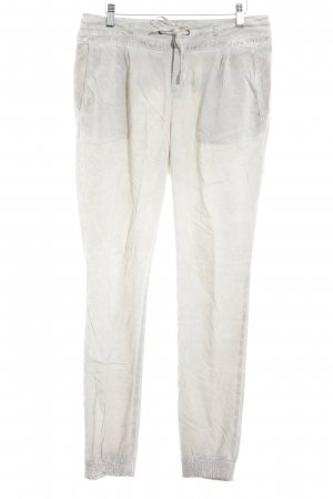 Comma Stoffhose hellbeige Casual-Look