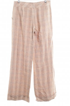 Comma Stoffhose Karomuster Business-Look