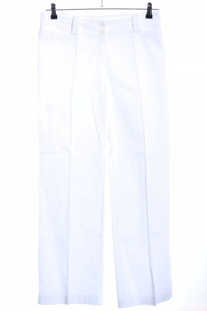 Comma Jersey Pants white casual look
