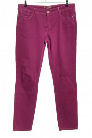 Comma Slim Jeans pink Casual-Look