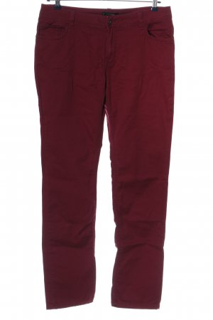 Comma Straight-Leg Jeans rot Casual-Look