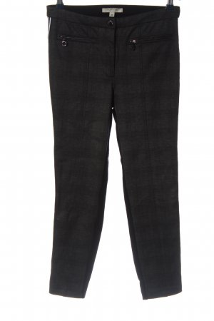 Comma Stretchhose schwarz Casual-Look