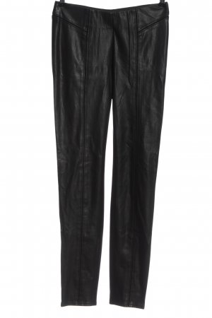 Comma Pantalon strech noir style décontracté