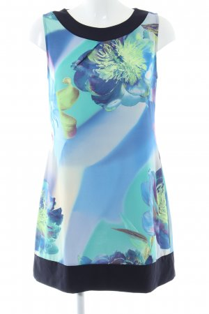 Comma Stretch Dress abstract pattern casual look