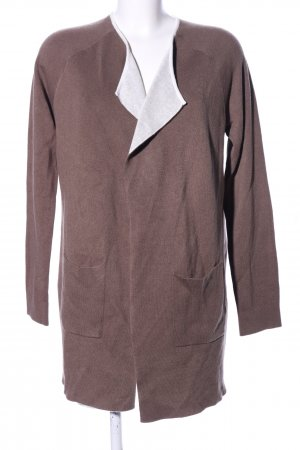 Comma Strick Cardigan braun Casual-Look