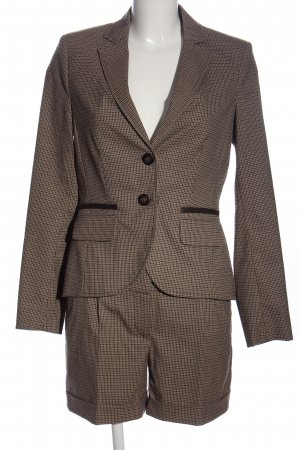 Comma Strick Twin Set Allover-Druck Business-Look