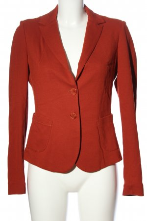 Comma Knitted Blazer red business style