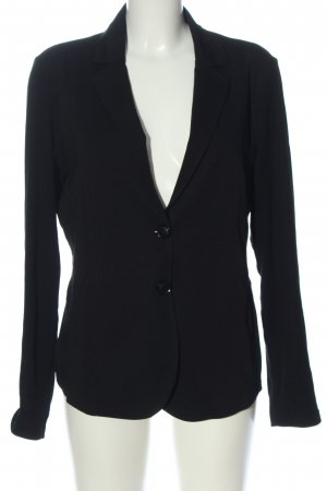 Comma Knitted Blazer black business style