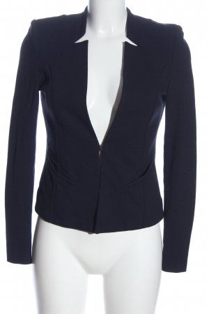Comma Knitted Blazer blue business style