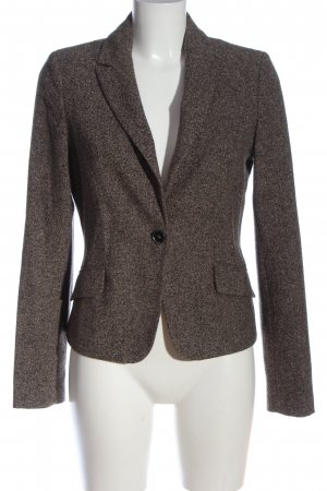 Comma Knitted Blazer light grey flecked business style
