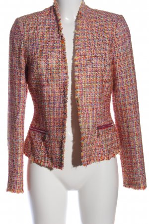 Comma Knitted Blazer allover print business style