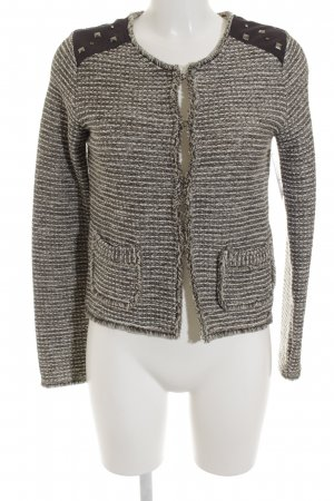 Comma Strickjacke mehrfarbig Casual-Look