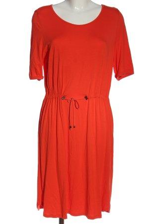 Comma Sukienka z dzianiny czerwony W stylu casual