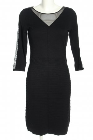 Comma Knitted Dress black business style