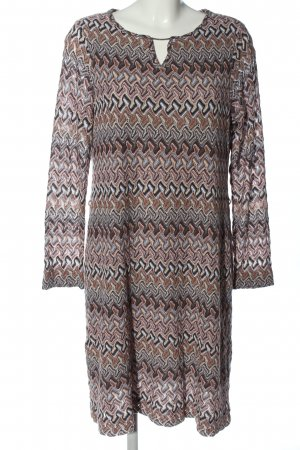 Comma Knitted Dress multicolored casual look