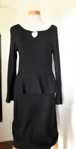 Comma Knitted Dress black