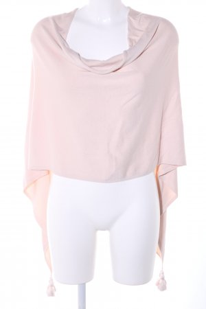 Comma Strickponcho pink Casual-Look