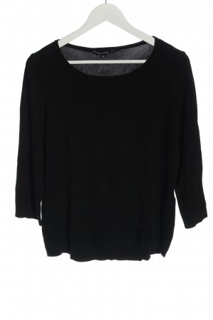 Comma Knitted Sweater black casual look