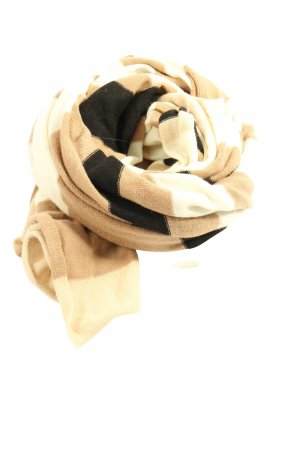 Comma Knitted Scarf abstract pattern casual look