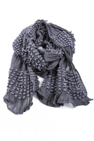 Comma Knitted Scarf light grey-lilac casual look