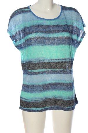 Comma Camisa tejida estampado a rayas look casual